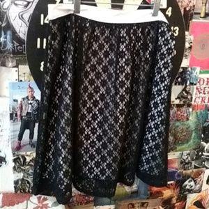 Kensie lace skirt nwt